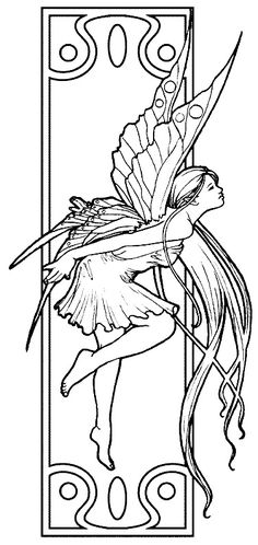 Fantasy Coloring Pages 32