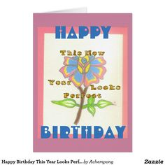 Happy Birthday This Year Looks Perfect Hakuna Matata Birthday Cards & Invitations e #Amazing #beautiful #stuff and #gift #products #sold on #Zazzle #Achempong #online #store #for #the #ultimate #shopping #experience