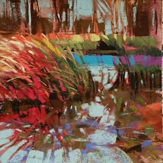 Safe Haven by Jennifer Evenhus Pastel ~ 6 x 6