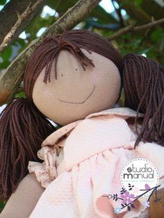 Amo bonecas de Pano!!!