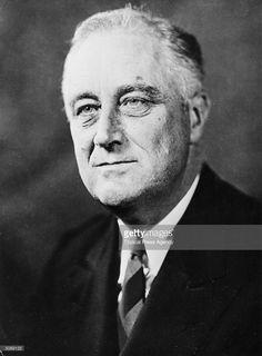 Franklin Delano Roosevelt (1882 - 1945), 32nd President of the USA.