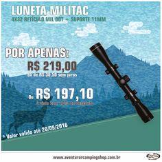Melhores marcas pelos menores preços é na Aventurar Camping Shop ;) www.aventurarcampingshop.com.br