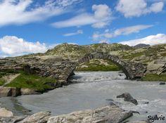 Pont romain de la Reculaz / Cirque des Evettes / Parc National de la Vanoise / Alpes