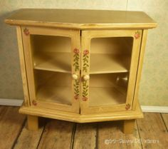 Doll Furniture Cottage China Cabinet Fits 16-17 inch Gene Madra Tyler Buffet #Unknown