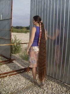 Long brown hair down to her ankles Long Thin Hair, Long Hair Tips, Really Long Hair, Long Brown Hair, Super Long Hair, Long Hair Ponytail, Ponytail Hairstyles, Down Hairstyles, Pentecostal Hairstyles