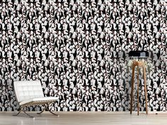 Design #Tapete Die Reise Der Pinguine