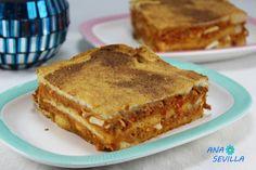 Sandwich de atún y tomate con Thermomix. Tapas, Sandwiches, Canapes, Tostadas, Apple Pie, Lasagna, Hummus, French Toast, Picnic