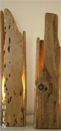 What Cool Floor Lamps ~Treibholz Leuchten (Diy House Rustic) Driftwood Lamp, Driftwood Projects, Wood Lamps, Wc Decoration, Creation Deco, Cool Floor Lamps, Wood Creations, Cool Lighting, Lamp Design