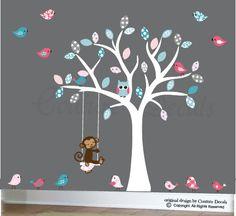 Cute unisex idea for baby's room.