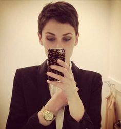 Super Short Cropped Hair Pixie