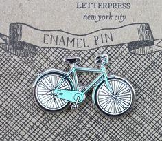 Bicycle Enamel Pin €10 / $12.90 www.allthatiwant.com