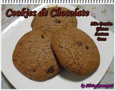 Não Contém Gluten: Cookies de Chocolate Não Contém Gluten, Lactose e Ovos