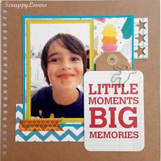 Album, Layouts, Lovers, In This Moment, Memories, Big, Books, Vacation Scrapbook, Memoirs