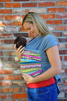 Lei Wrap Baby Carrier Sling