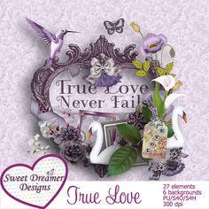 True Love - $2.49 : ScrapPNG, Digital Craft Graphics