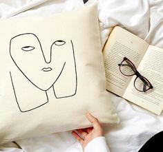EYE ROLL PILLOW cover,dorm room decor,dorm pillow,boho pillow, bohemian pillow, modern pillow,trendy pillow, decorative pillows