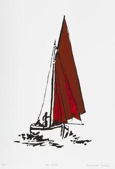 Soul Boat, Irish Landscape, Wood Colors, Sculpture Art, Screen Printing, Artist, Prints, Screen Printing Press, Silk Screen Printing