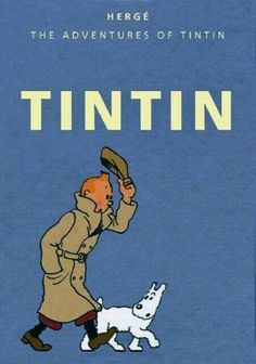 The Adventures of Tintin was one of the most famous Belgian comic series created by Georges Remi, who went by the author name Hergé. It began as a small comic strip printed in the Belgian newspaper in Comic Manga, Comic Art, Comic Books, Book Characters, Cartoon Characters, Album Tintin, Herge Tintin, Ligne Claire, Bd Comics