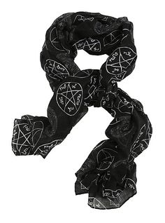 Supernatural Symbols Scarf | Hot Topic