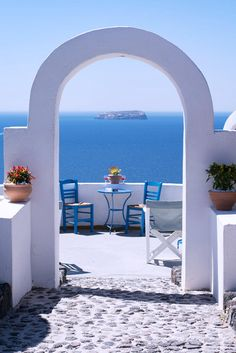 Santorini & the Aegean - Greece. Mykonos, Santorini Greece, Romantic Destinations, Romantic Places, Beautiful World, Beautiful Places, Places To Travel, Places To Visit, Greek Beauty