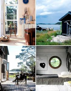 Complete view summer house is located on one of the islands of the Stockholm archipelago.