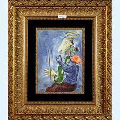 -Marc Chagall Original lithograph in colors Le Printemps 1938
