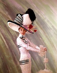 AUDREY HEPBURN in My Fair Lady   Love the hat!