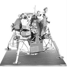 Metal Earth 3D Laser Cut Model Apollo Lunar Module Space