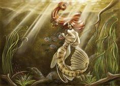 Mermaid of the Amazon by JillJohansen
