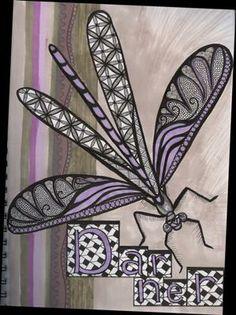 Darner Dragonfly art