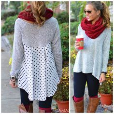 Connect The Dots Grey Polka Dot Back from Amazing Lace