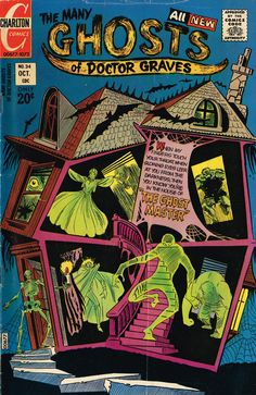 The Many Ghosts of Doctor Graves #34. Terrific cover.