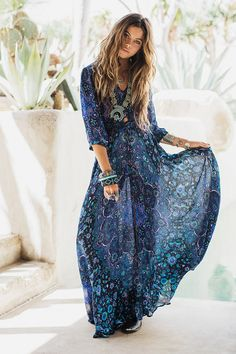 Kiss the Sky Gown - Bluejay • Spell & The Gypsy Collective - International