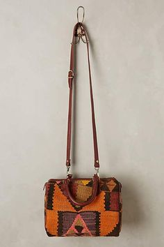 One-of-a-Kind Kilim Satchel - anthropologie.com