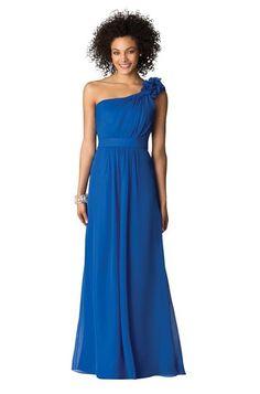 Style 6611 bridesmaid dress in Sapphire from Weddington Way