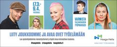 Haaga-Helian kampanja: HS.fi Paraati -nettimainos