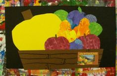 2nd grade art lesson: Mexican Unit - Fruit Crate by Deep Space Sparkle
