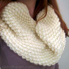 great circle scarf pattern