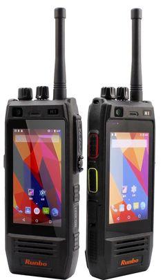 Original de Dos Vías Auricular de Radio Amateur H1 Móvil HAM Radio DMR VHF UHF PTT Walkie Talkie 10 km GPS 4G LTE 6000 MAH baofeng