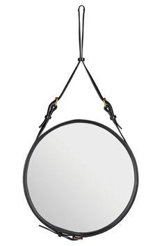 Shopping déco : miroir rond suspendu