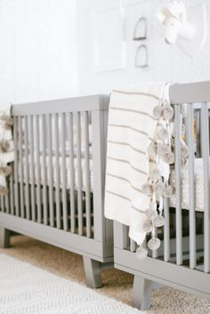 A gray nursery: http://www.stylemepretty.com/living/2015/07/25/neutral-decor-that-sparkles/