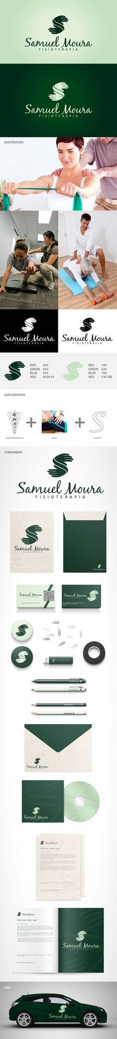 Logotipo Samuel Moura Fisioterapia by Jeymes Kaléo