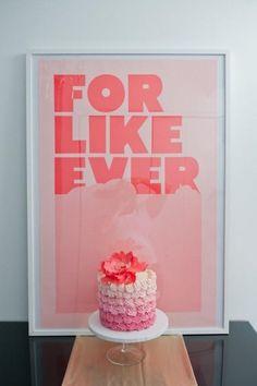 Ombre Cake  > Wedding Cakes #891257 - Weddbook