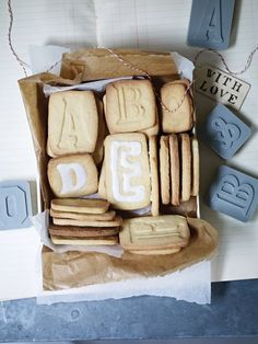 Letterpress Cookie Cutters