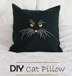 Catface Pillow - Tutorial