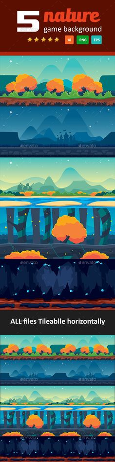 5 Nature Game Background Download here: https://graphicriver.net/item/5-nature-game-background/17922015?ref=KlitVogli