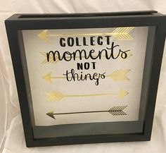 Do you love to travel the world and pick up souvenirs as you go? These 12x12 top loading shadow boxes are a great way to store your familys memories of all the places youve been together. There is a large sliding top that allows you to simply drop your travel brochures, tickets, and
