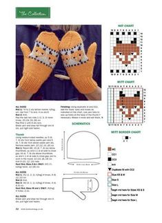 Best Picture For babysocken stricken einfach For Your Taste You are looking for something, and it is Knitted Mittens Pattern, Crochet Mittens, Fingerless Mittens, Crochet Gloves, Knit Or Crochet, Knitted Hats, Baby Hats Knitting, Knitting Charts, Knitting Stitches