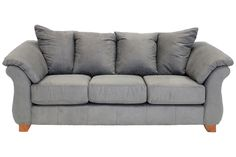Shasta Charcoal Sofa - Sofas - Living Room | Mor Furniture for Less