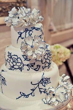 Navy Blue Wedding Palette
